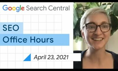 English Google SEO office-hours from April 23, 2021