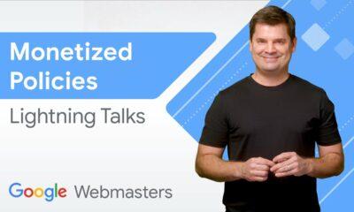 Google Monetized Policies | WMConf Lightning Talks