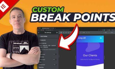 Elementor Custom Break Points - AT LAST! Sort Of!