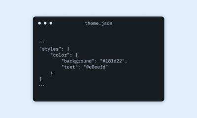 Configuring Theme Design with theme.json