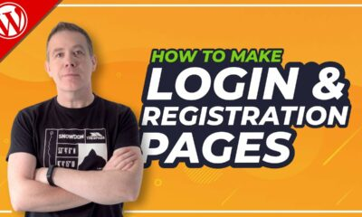 How To Create Custom Login And Registration Page In WordPress