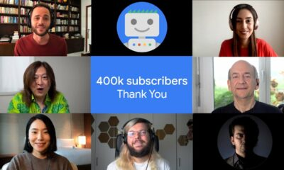 Google Search Central Thank You: 400,000 Subscribers!!