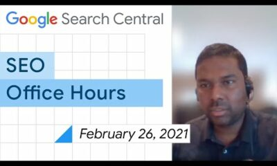 English Google SEO office-hours from February 26, 2021