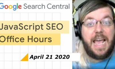 JS SEO office hours April 21, 2021