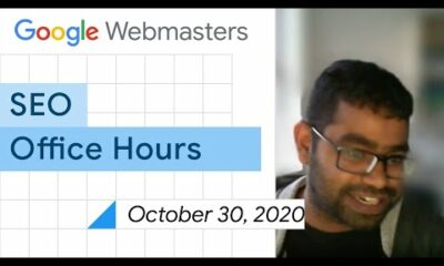 English Google SEO office-hours from October 30, 2020