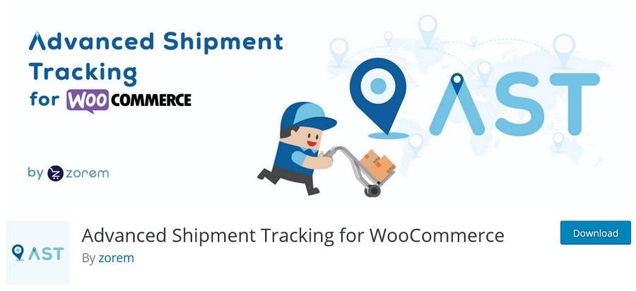 Advanced Shipment Tracking for WooCommerce plugin