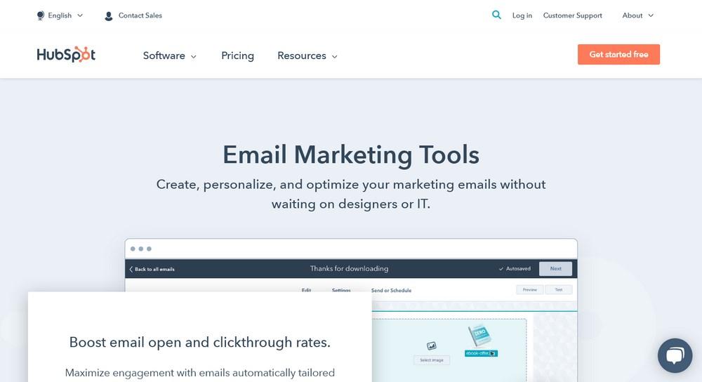 Free Email Marketing Tools HubSpot