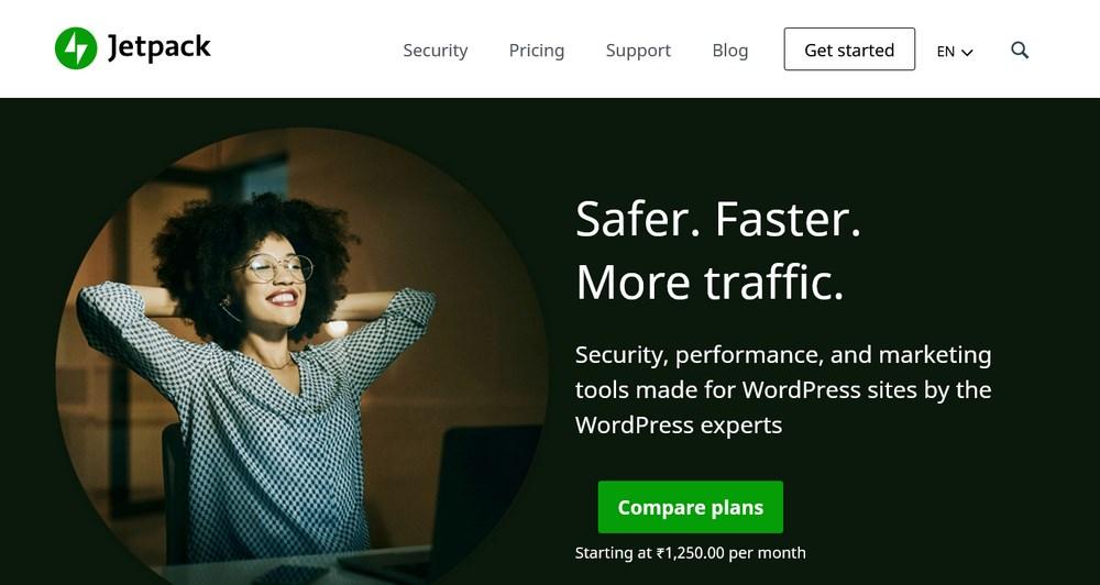 Jetpack homepage