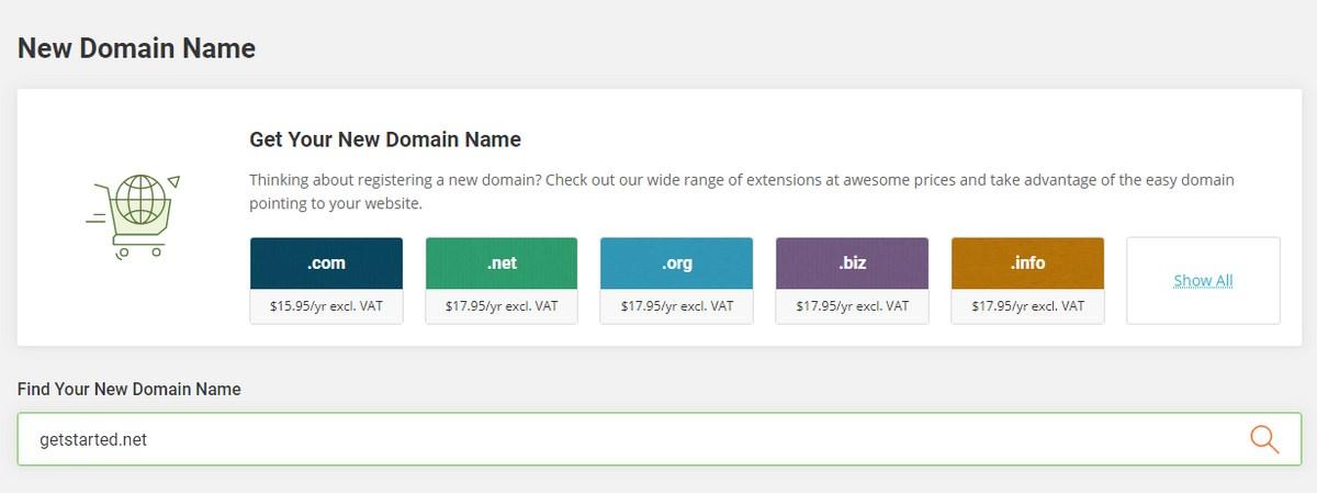 Siteground net extension