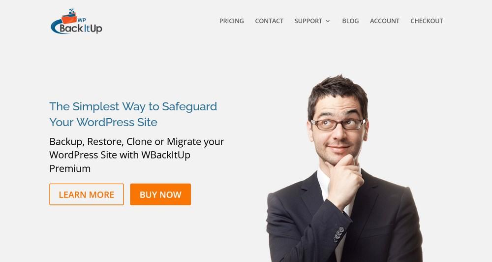 WPBackitup Backup WordPress plugin