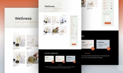 Download a FREE Product Category Template for Divi's Candle Making Layout Pack