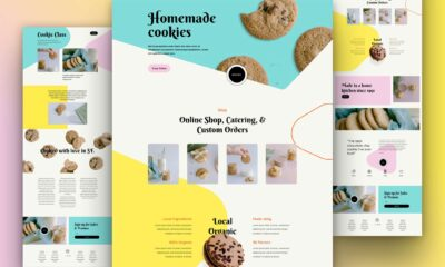 Get a FREE Homemade Cookies Layout Pack for Divi