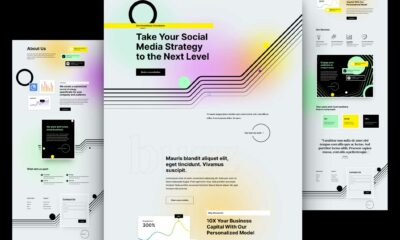 Get a FREE Social Media Consultant Layout Pack for Divi