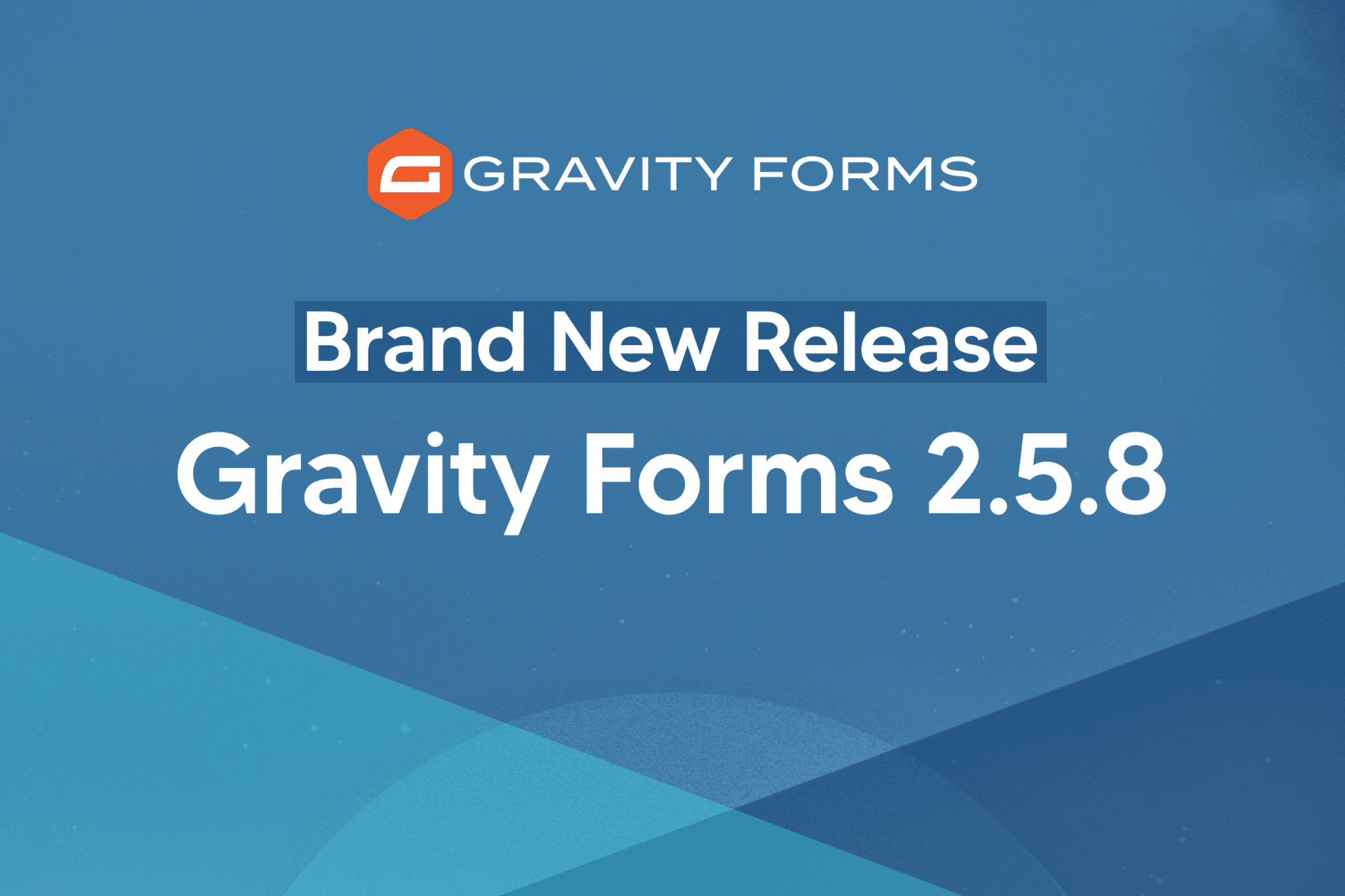 Brand New Release: Gravity Forms 2.5.8