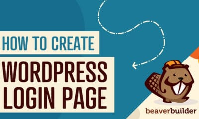 how to create wordpress login page with beaver builder