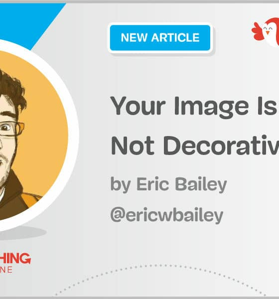 Your Image Is Probably Not Decorative