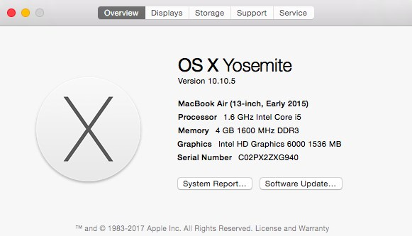 macOS overview