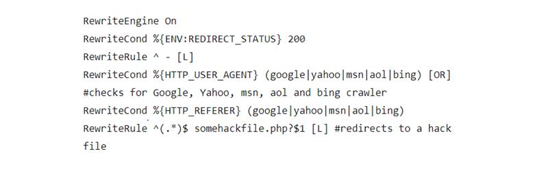Check the .htaccess file