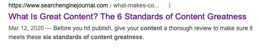Well-written meta description example.