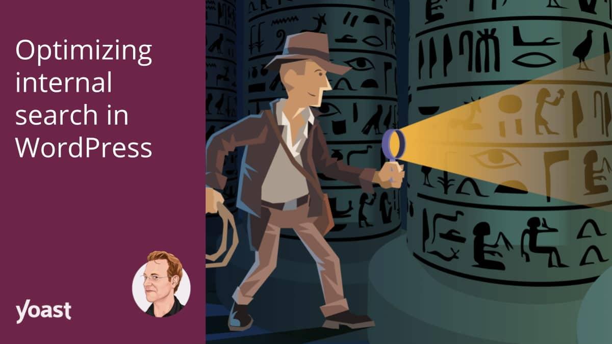 Optimizing internal search in WordPress