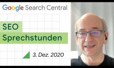German / Google SEO Sprechstunden auf Deutsch vom 3. Dezember 2020