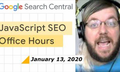 JavaScript SEO office hours January 13th, 2021
