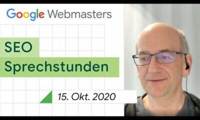 German / Google SEO Sprechstunden auf Deutsch vom 15. Oktober 2020