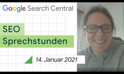 German / Google SEO Sprechstunden auf Deutsch vom 14. Januar 2021