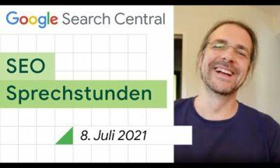 German / Google SEO Sprechstunden auf Deutsch vom 8. Juli 2021