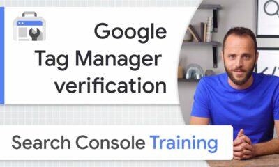 Google Tag Manager for site ownership verification - Google Search Console Training