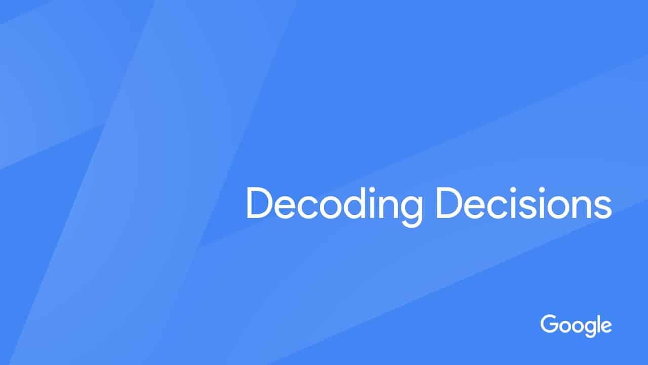 (ES) Decoding Decisions