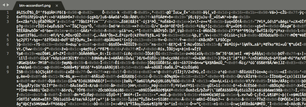 The first layer of obfuscation
