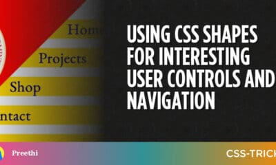Using CSS Shapes for Interesting User Controls and Navigation