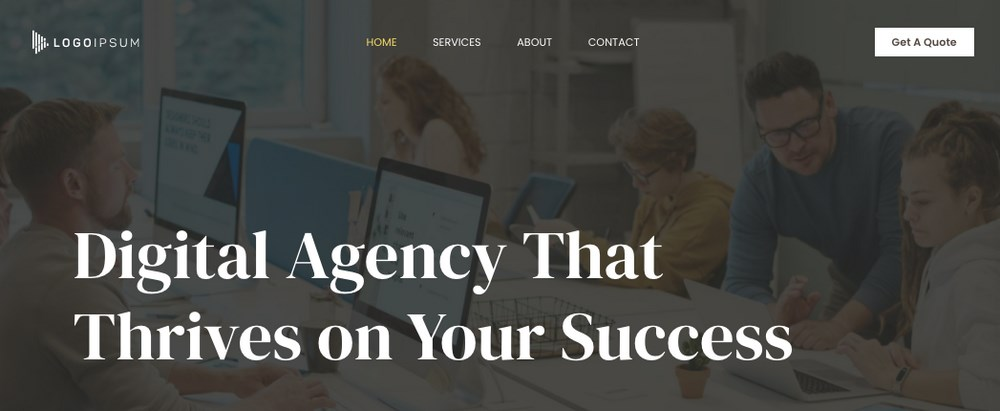 Astra digital agency template