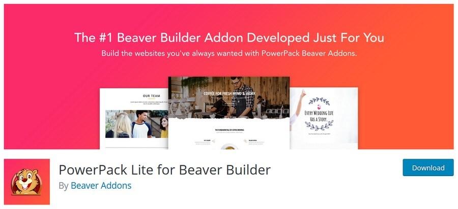 PowerPack lite for Beaver builder plugin