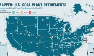 Road to Decarbonization: U.S. Coal Plant Closures