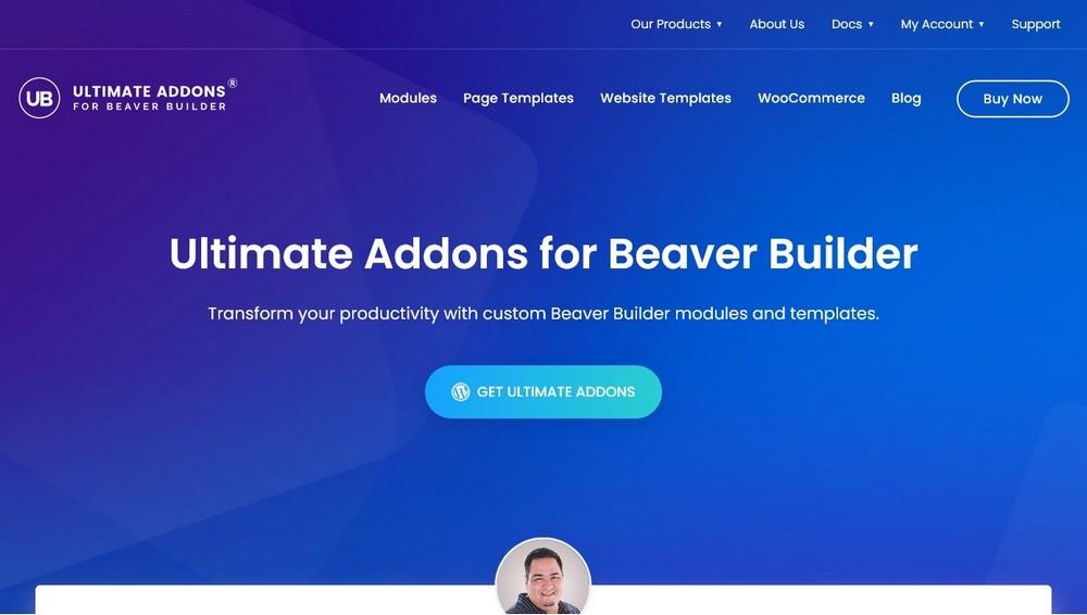 Ultimate Addons for Beaver Builder BSF plugin