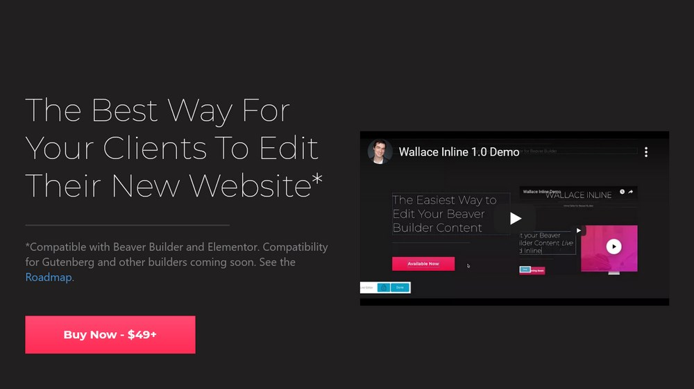 Wallace Inline Client-Friendly Editor for WordPress