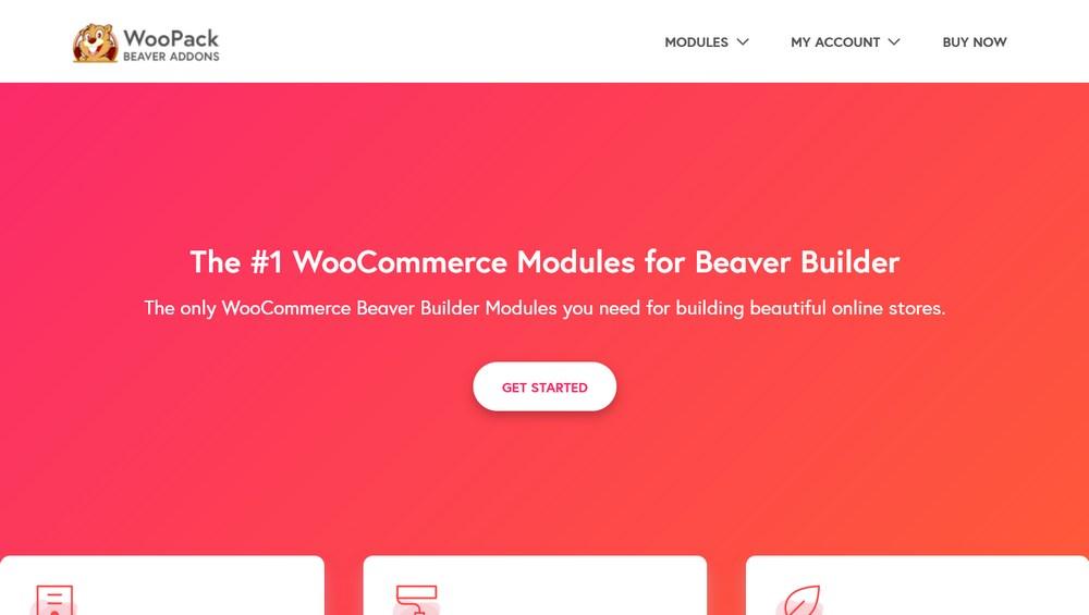WooCommerce Beaver Builder Modules WooPack for BB