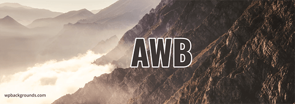 AWB header.
