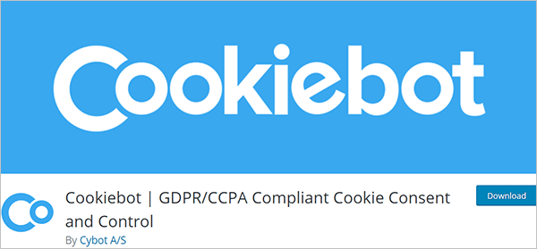 Cookiebot   GDPR/CCPA Compliant Cookie Consent and Control