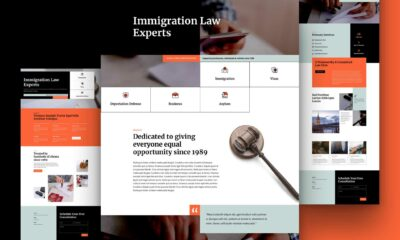 Get a FREE Immigration Lawyer Layout for Divi