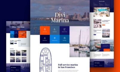 Get a FREE Marina Layout Pack for Divi