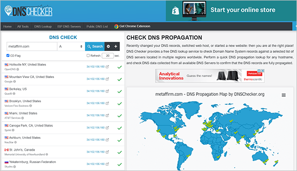 DNSChecker.org