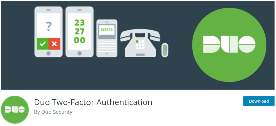 Duo Two-Factor Authentication plugin banner logo