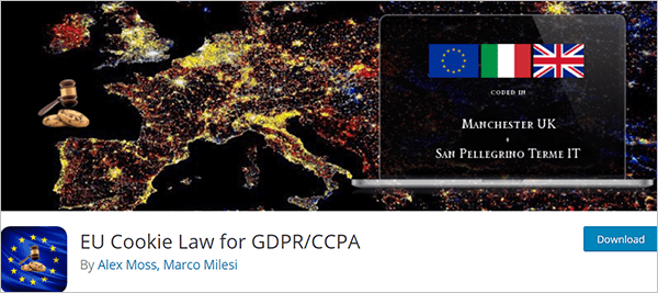 EU Cookie Law for GDPR/CCPA