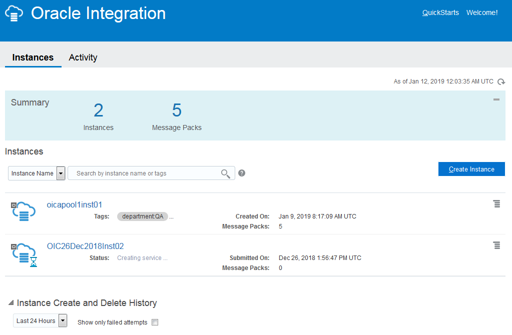 iPaaS vendors: Oracle Integration Cloud