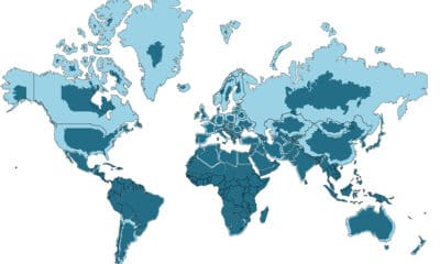 Mercator Misconceptions: Clever Map Shows the True Size of Countries