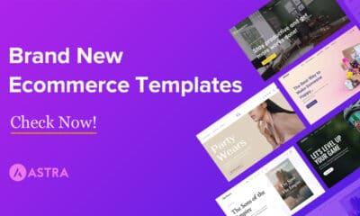 Announcing New Ecommerce Starter Templates for Elementor