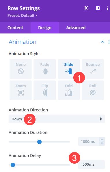 animation duration